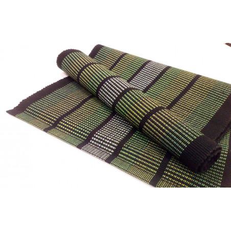 Ripslöpare i färgerna svart och grönt